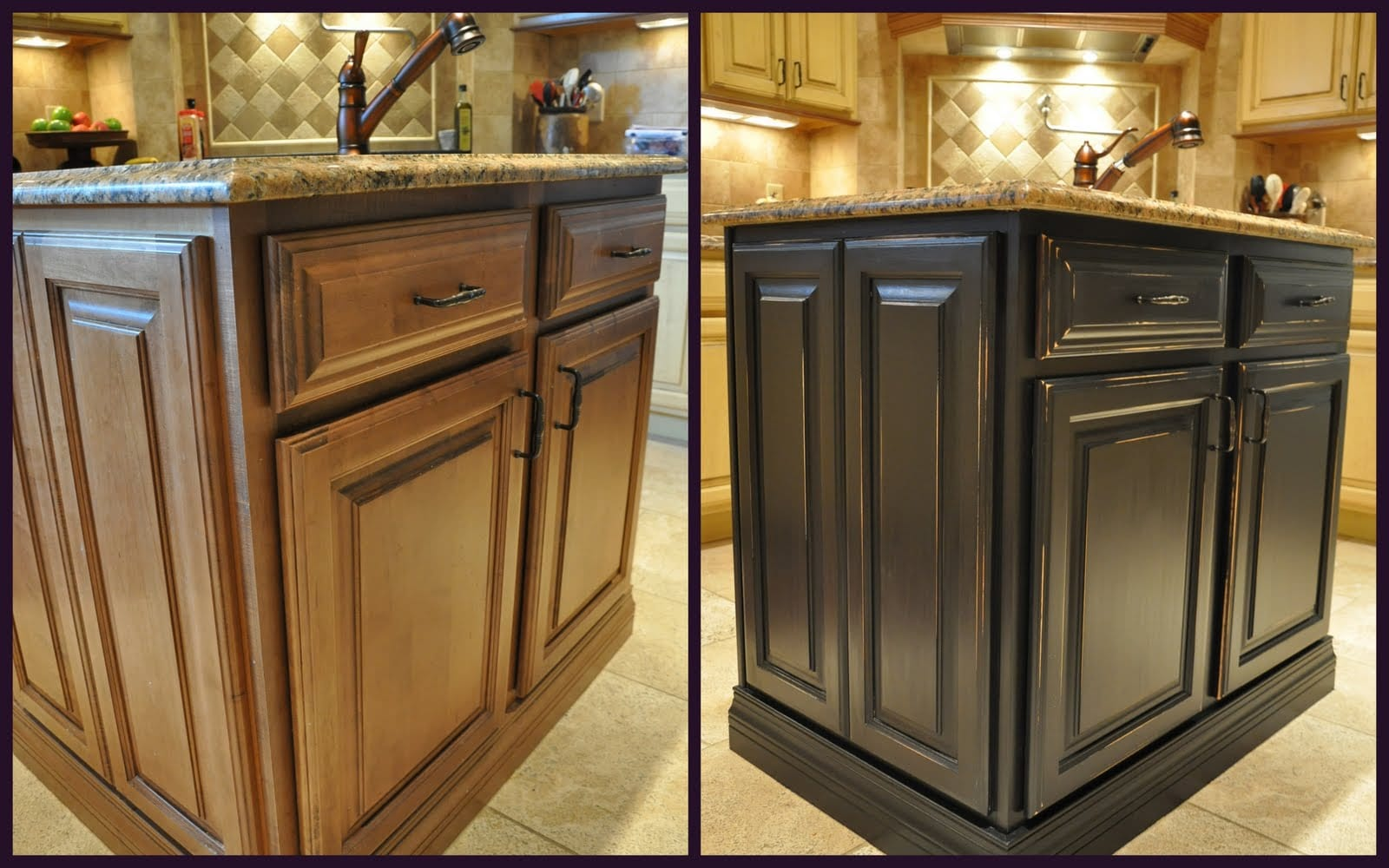 Painting Kitchen Cabinets 2017 Awesome Painted Kitchen Cabinets Before And After Photos