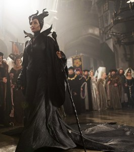 Maleficent attends the Christening.