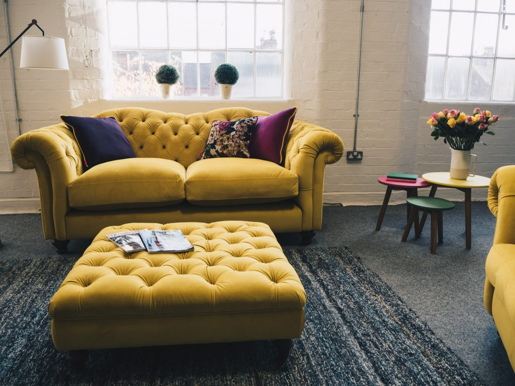 2er Sofa At Dfs For The Joules & Dfs Collaboration Sneak Peek
