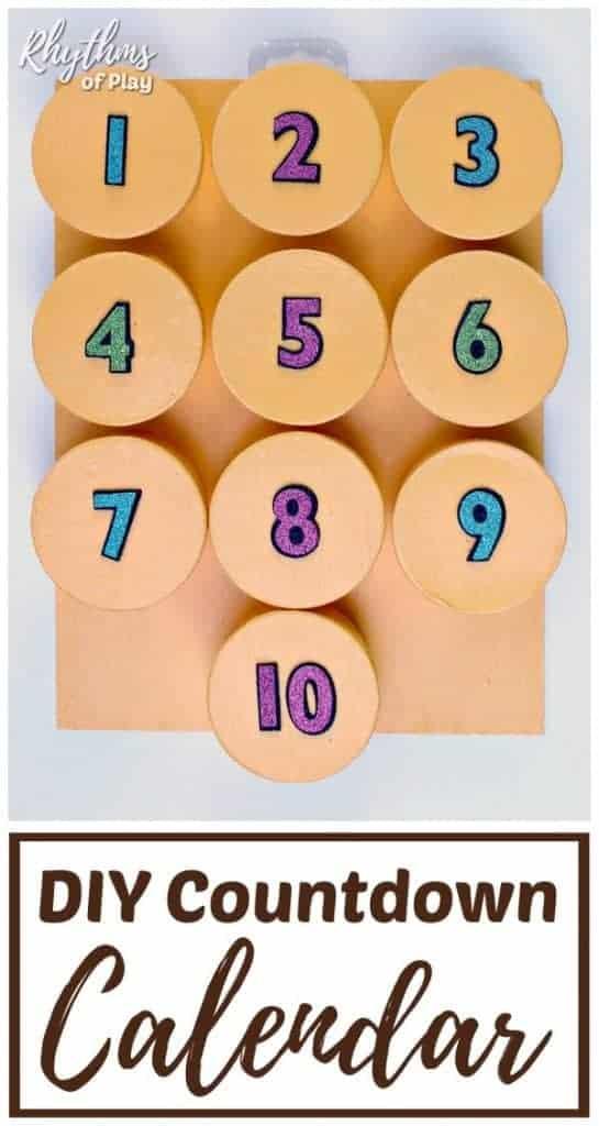 DIY Countdown Calendar for Kids Rhythms of Play