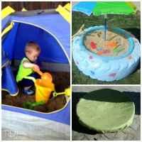 Top 10 Backyard Sandbox Ideas - Rhythms of Play