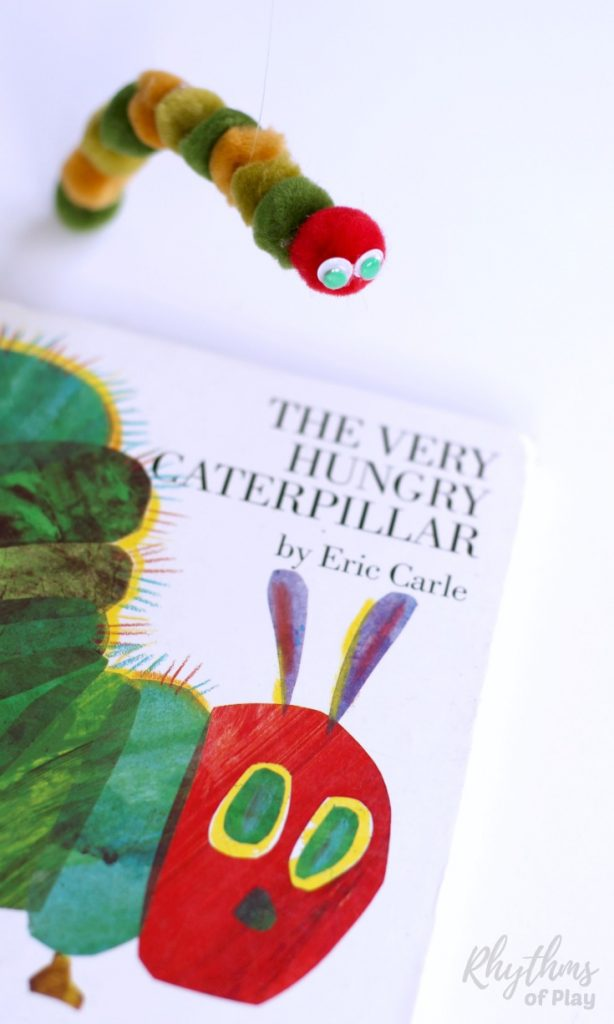 Very Hungry Caterpillar Puppet DIY Toy Kids Can Make Rhythms of Play