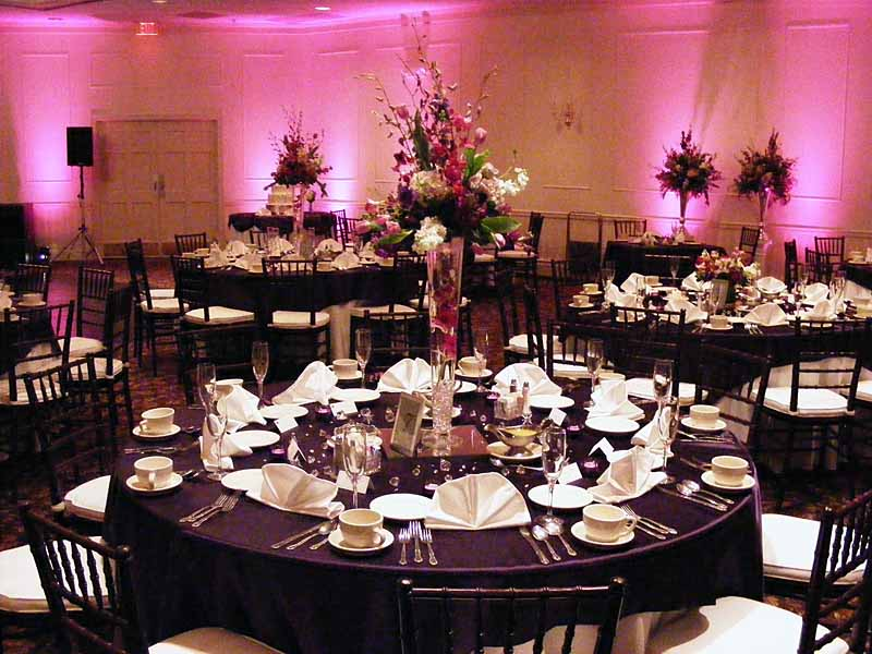 Wedding Reception Mood Lighting