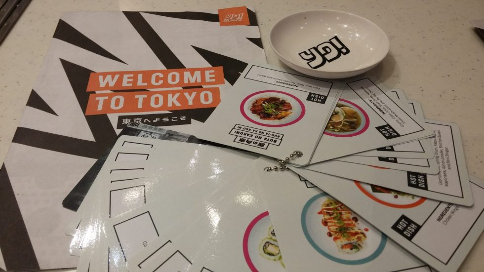 #ThisisTokyo new Yo! Sushi menu