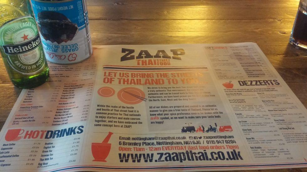 Zaap Thai Nottingham