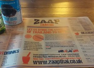 Zaap Thai Nottingham