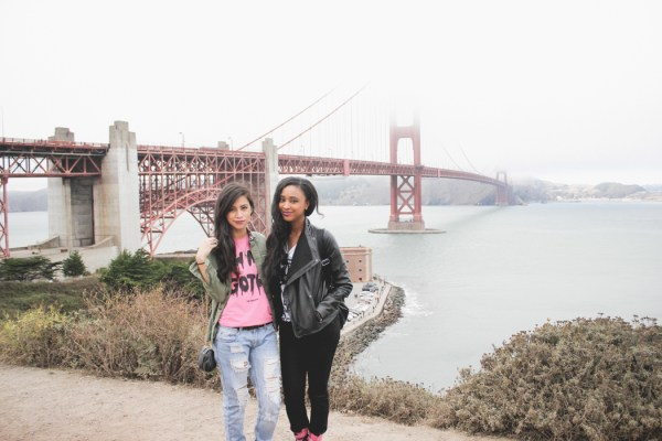 Ria Michelle & Pretty Stellar in San Francisco