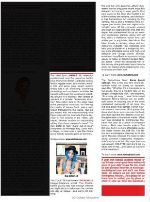 Colette Magazine Interview