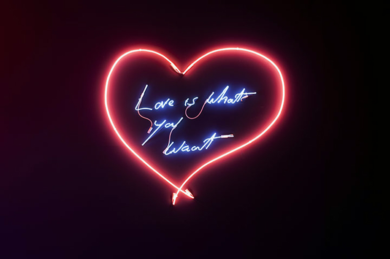 Broken Love Wallpaper With Quotes Arts Bombast Tracey Emin Ribbon Around A Bomb