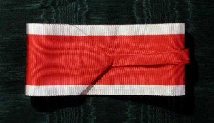 #AU034 -Royal Order of the Leopold - Ribbon for Commander
