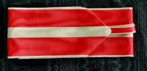 #AU315 - Republic of Austria, Order of Merit - Ribbon for Commander