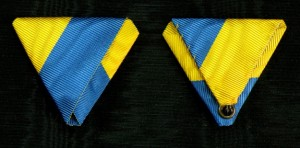 #AU350 - Austria, Veterans of Lower Austria commemorative Medals ribbon