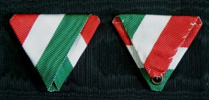 #HU035 - Hungary, National tricolora ribbon