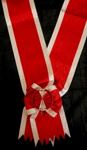 #KYU008 - Grand Cross Order of the Star of Karageorge type Huguenin sash