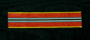 #ORRO025 - Romania, ribbon for Jubilee of Carol I 1906 Anniversary Medal