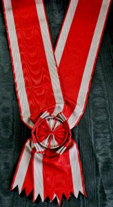 #SE015 - Order of the White Eagle Grand cross sash type 1