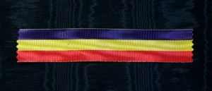 #SP025 - Spain, ribbon in national colors in period of 1931 - 1937