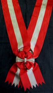 #IT012 – Italy, Order of Italian Crown, Grand cross sash.