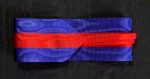 #UK010 - Great Britain - The Most Distinguished Order of St. Michael and St. George, ribbon for Companion's neck Badge