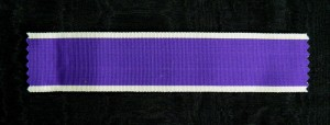US001 - United States, Ribbon for Purple Heart Decoration