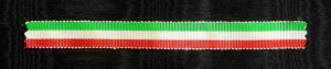 #MIT003 - Italy, Indipendence Medal, Tricolora ribbon
