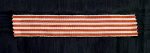 #ORFR015 - France, Commemorative Medal 1914 - 1918., ribbon for reduced size