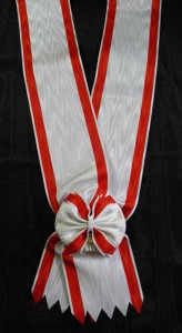 #MO014 - Order of Danilo I, I class (Grand Cross) sash