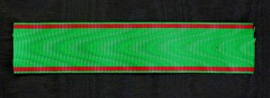 #TR035 - Turkey, Order of Osmania (Osmali) - Ribbon for Officer's Cross