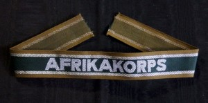 #GTR080 – Germany, Third Reich - An Afrikakorps Campaign Cufftitle