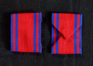 #RO037 – Romania, Order of the Romanian Star, 1st model 1864-1932, ribbon for Knight's Cross, type 1