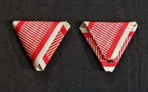#ORAU007 – Original Austrian War ribbon type 3