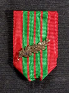 ORFR013 – France, War Cross (Croix de guerre) 1939 – 45 with original bronze palm , type 1.
