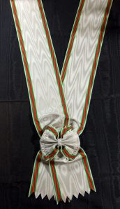 #TR002 – Turkey, Order of Nishani-Shefkat (Charity or Chastity) – Grand Cross sash, European style