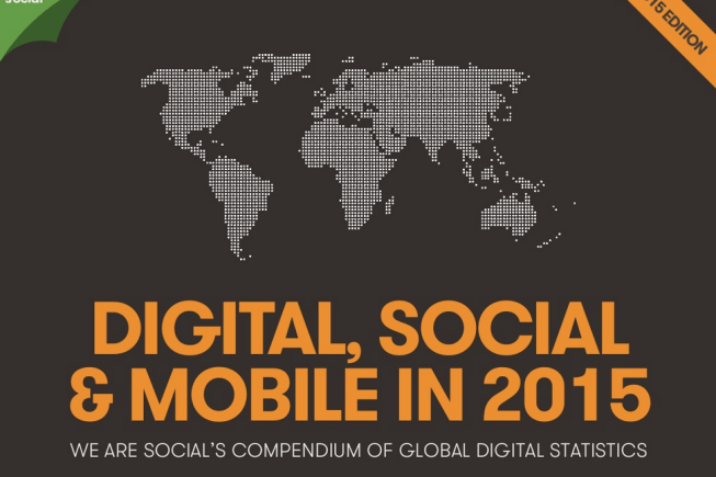 Digital, Social et Mobile en 2015