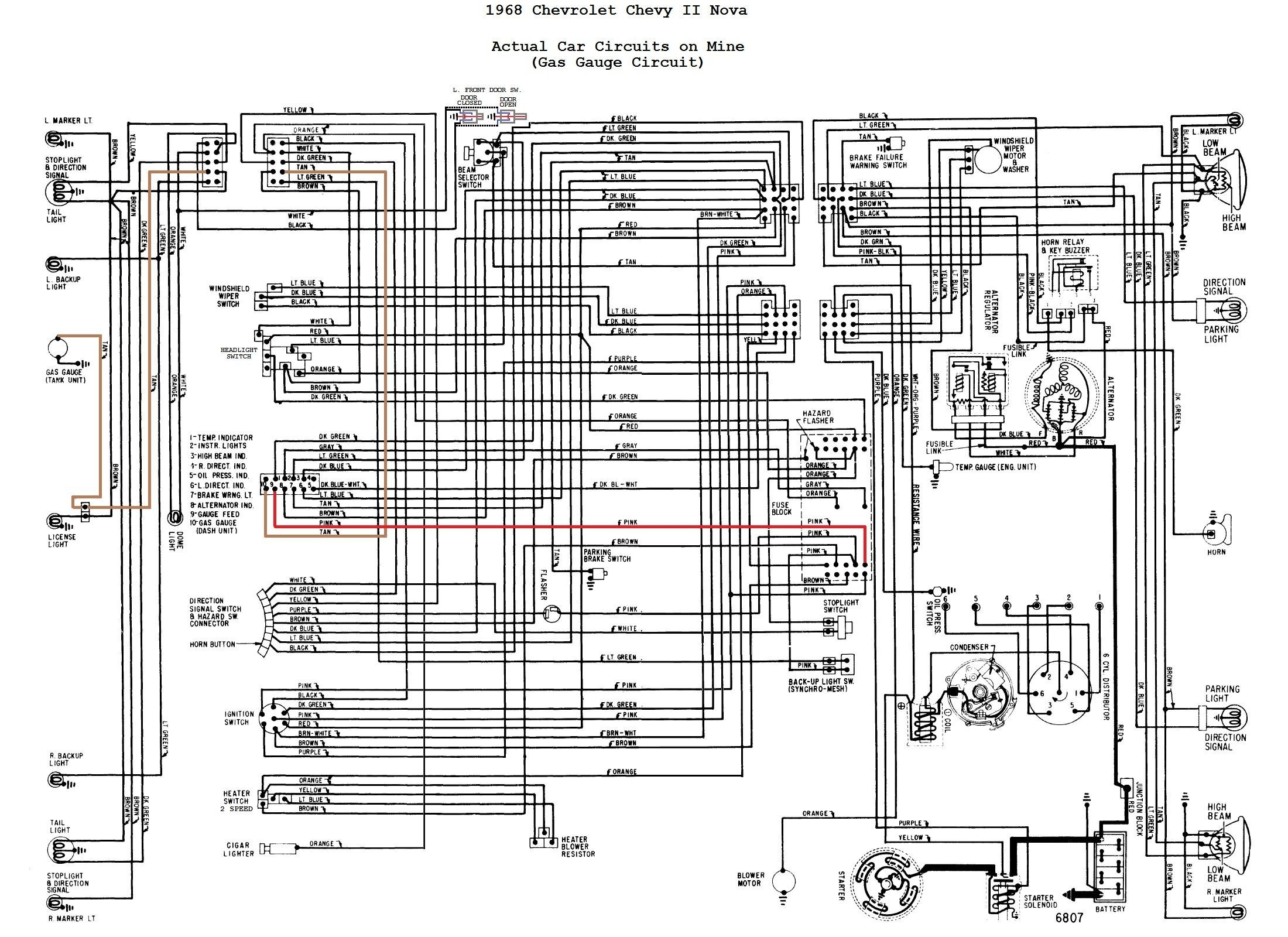 1967 gto wiring diagram download