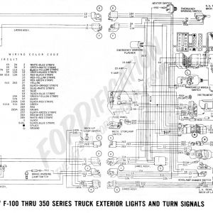 57 chevy turn signal wiring diagram