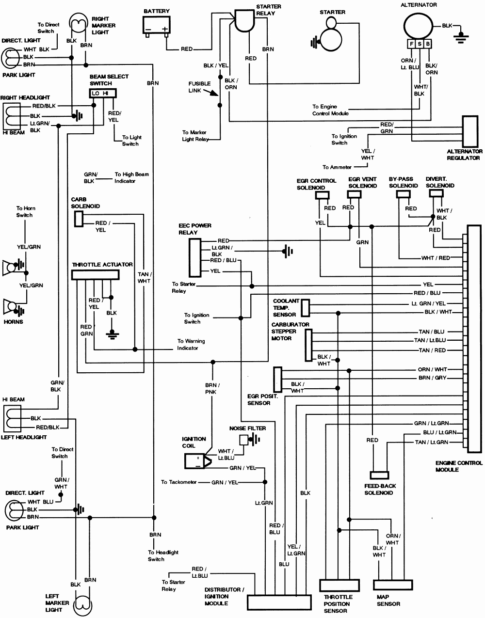 2007 ford ranger electrical wiring diagram