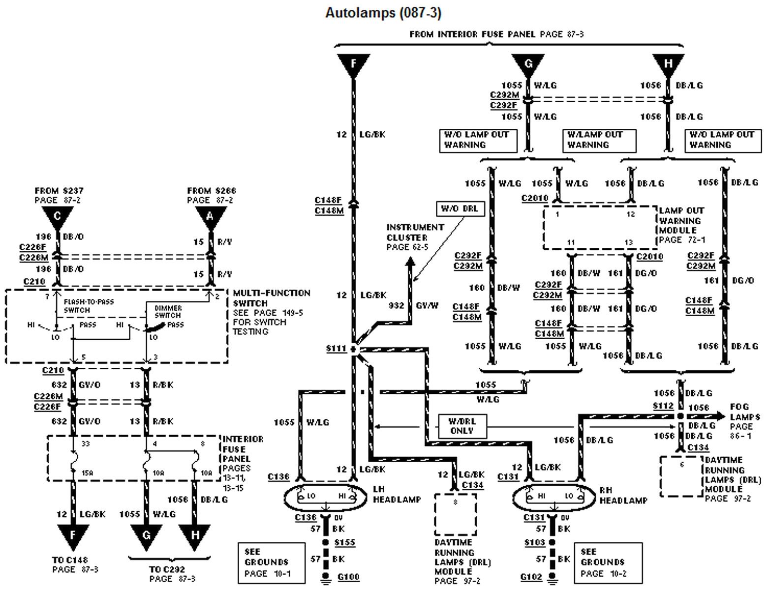 1999 explorer wiring diagram