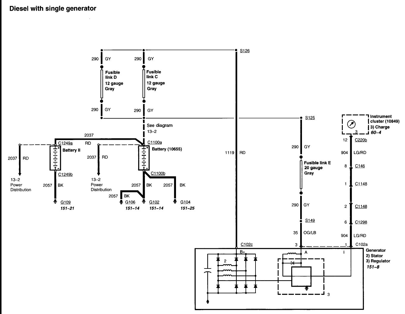 2000 f350 trailer diagram wiring diagrams pictures