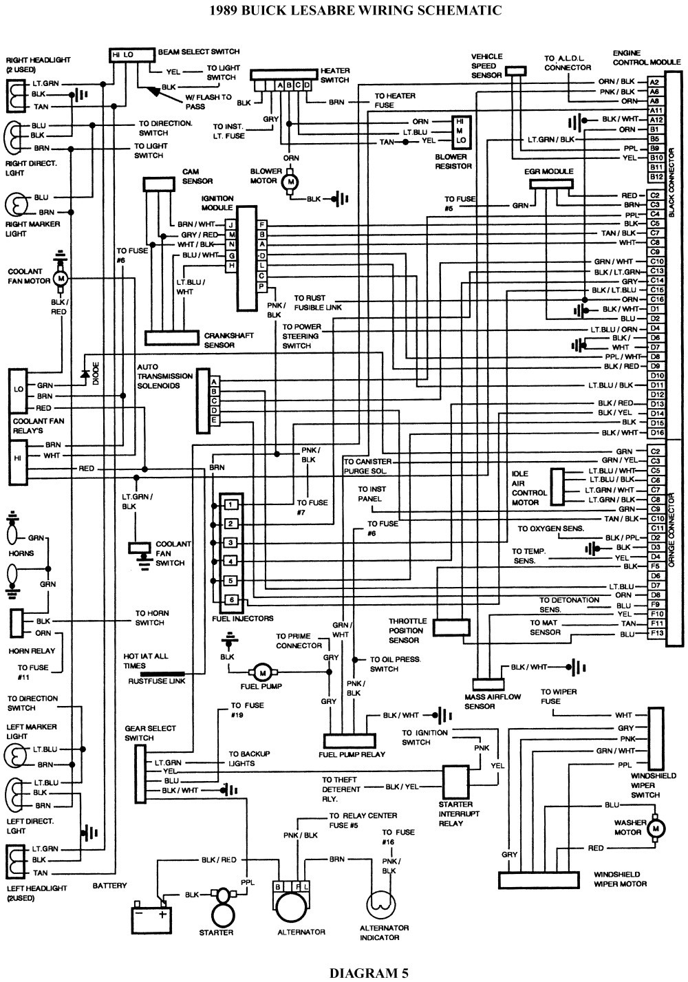 wiring diagram for 2003 pontiac bonneville