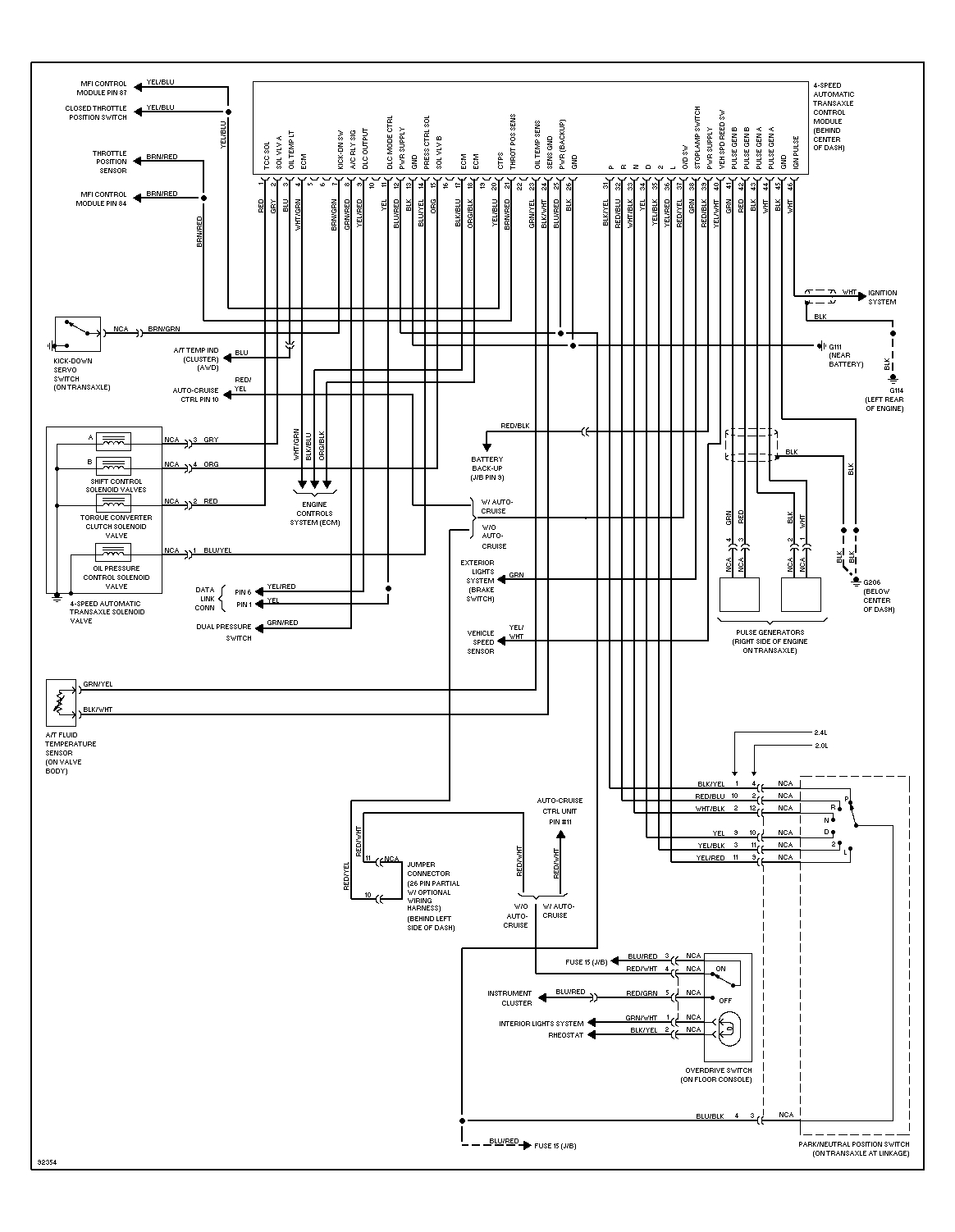 2004 galant fuse box diagram