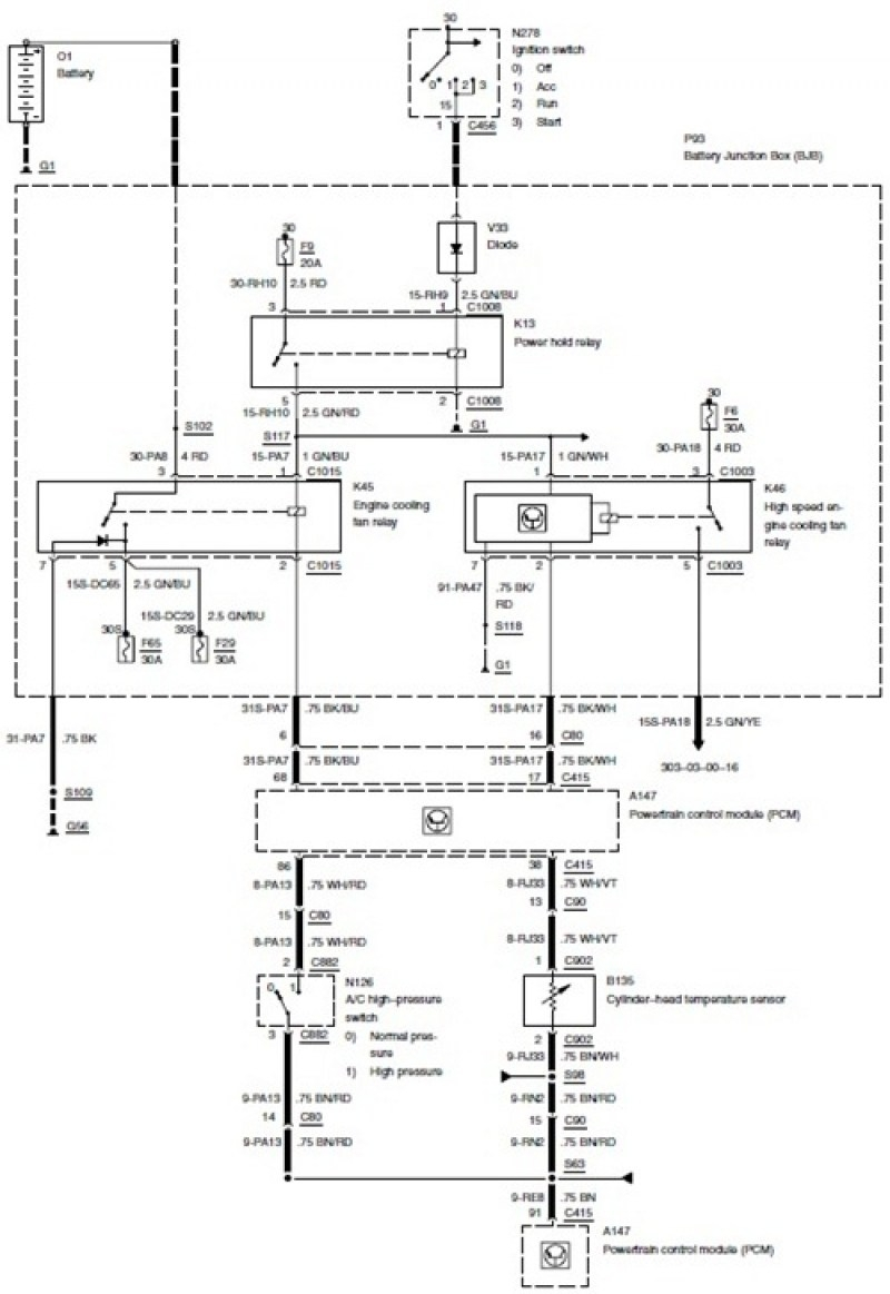 wiring diagram 2004 ford focus