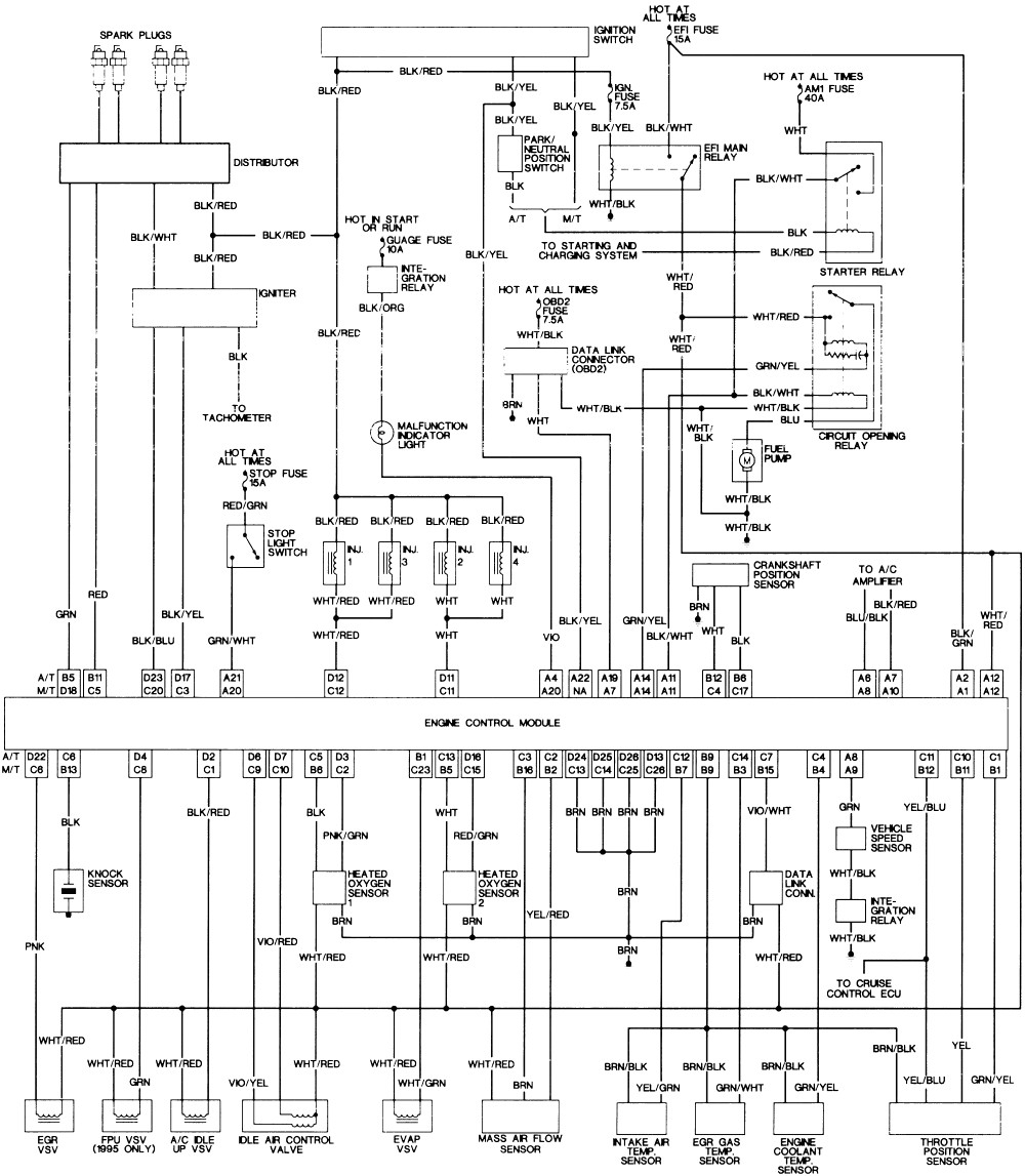 toyota wiring diagram stereo