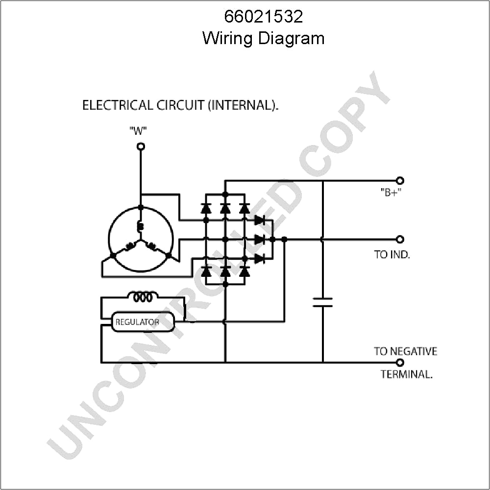 car alternator internal wiring diagram