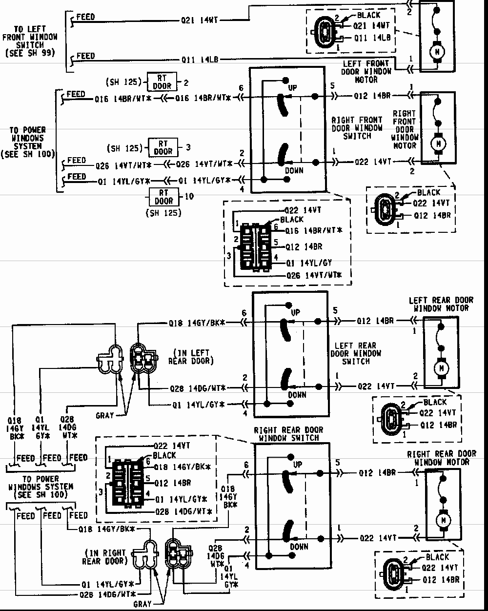 95 jeep cherokee trailer wiring