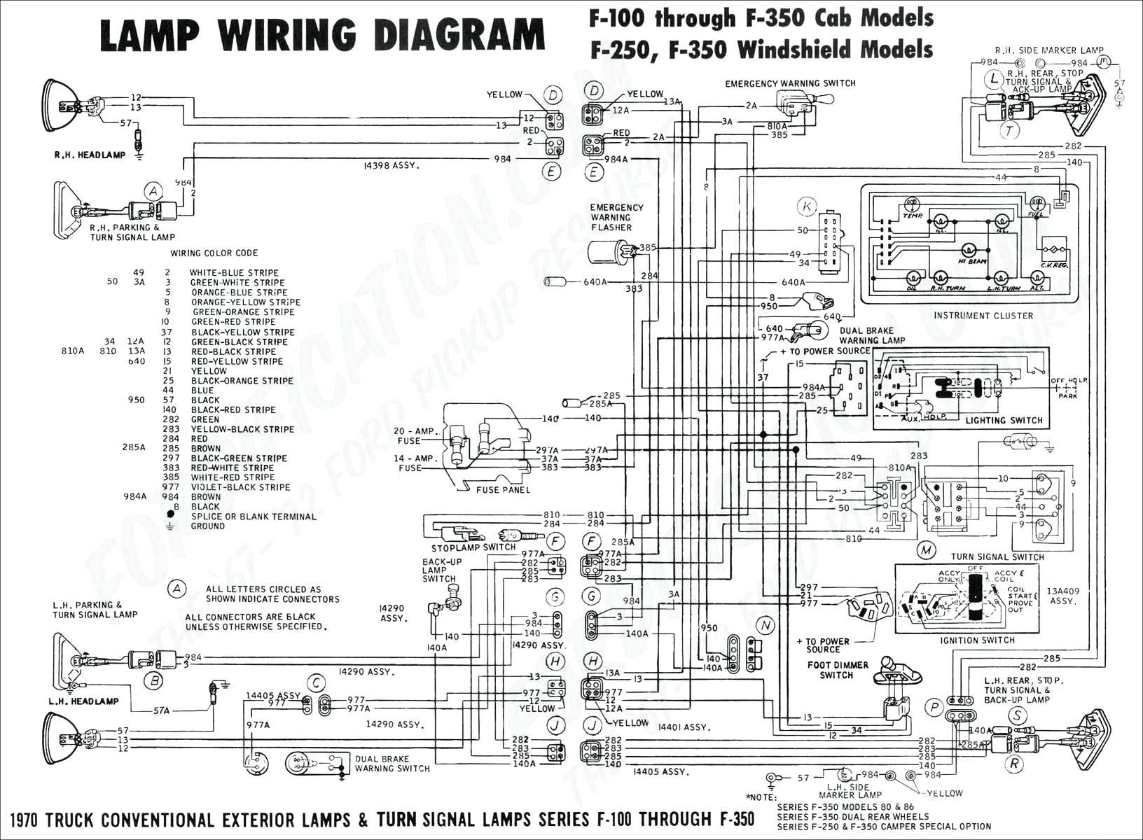 computer wiring diagram 1996 f150