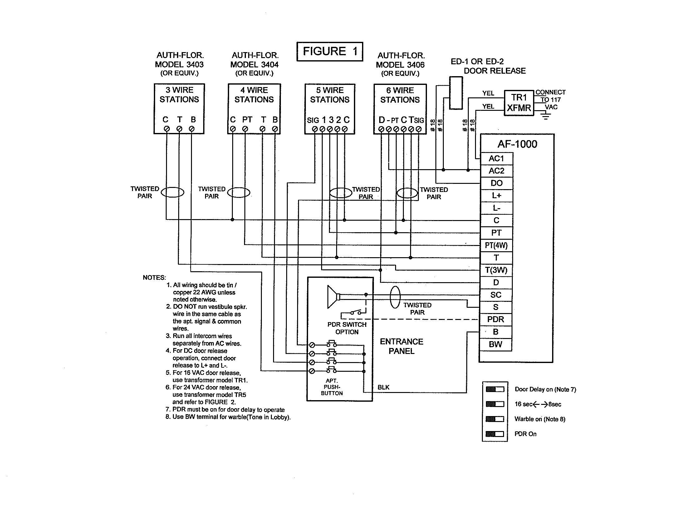 aiphone ccs1a intercom wiring