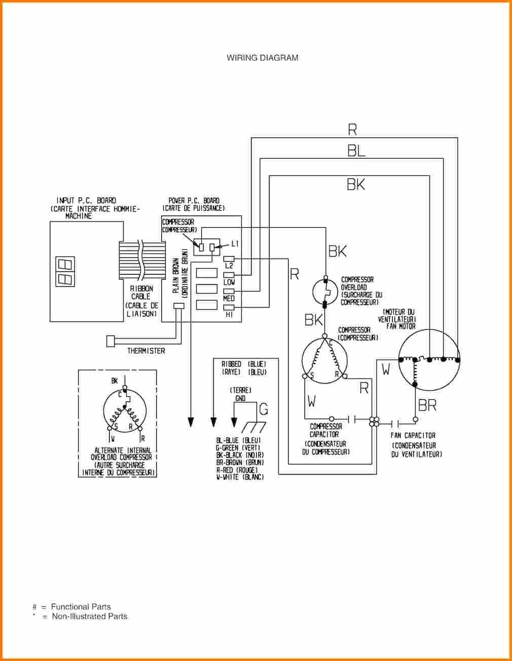 ptac thermostat wiring diagram