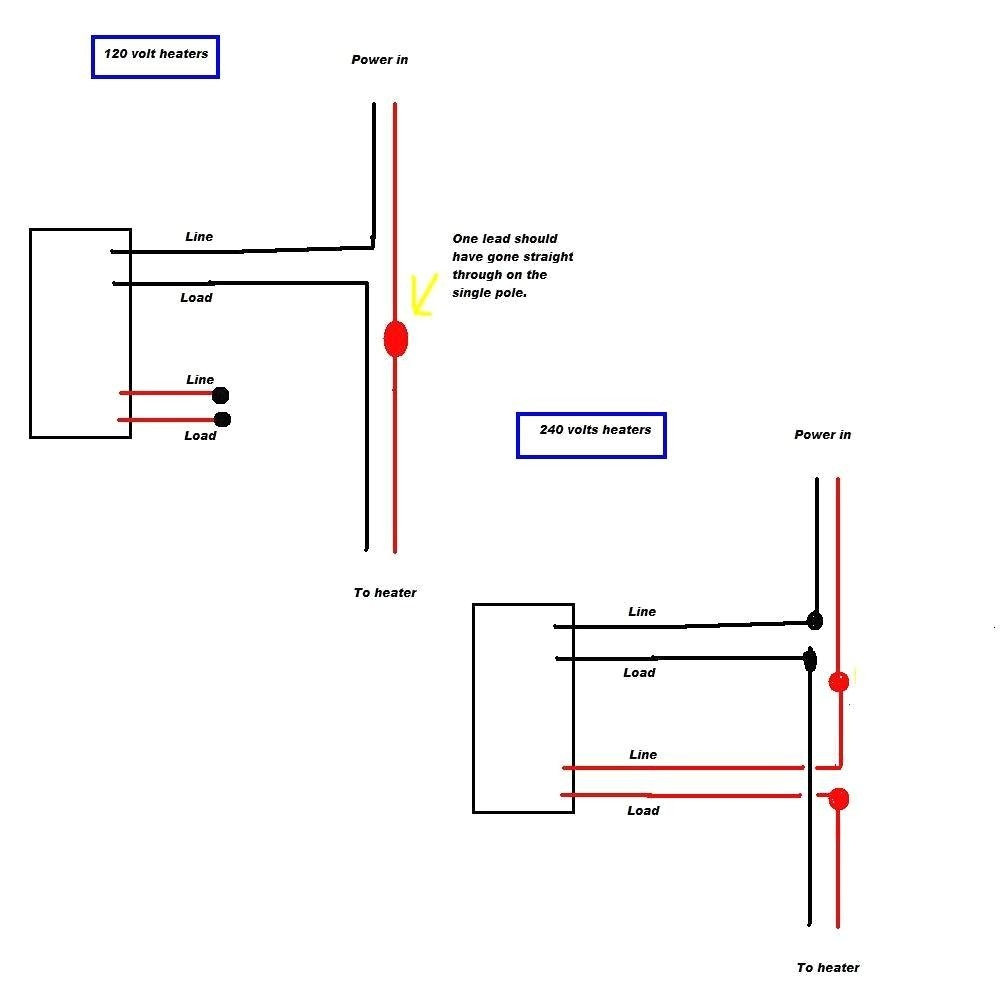 Heater Thermostat Wiring Diagram - All Wiring Diagram on