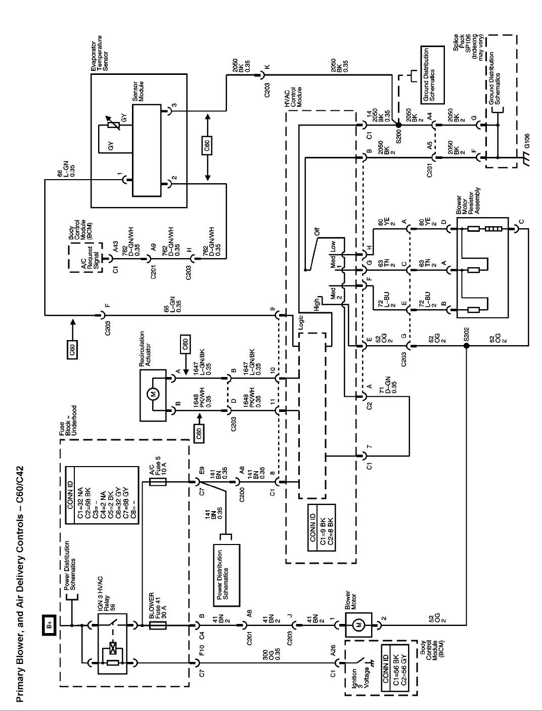 chevrolet colorado bedradings schema
